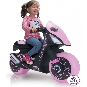 Injusa Kids Ride on Electric Licensed Hello Kitty Scooter Dragon - 6v.